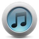 128x128px size png icon of iTunes simple