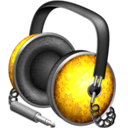 128x128px size png icon of Golden Garnish headphones