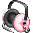 128x128px size png icon of Pinkstar Power headphones