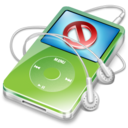 128x128px size png icon of ipod video green no disconnect