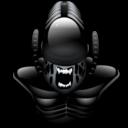 128x128px size png icon of Alien vs predator 2