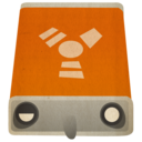 128x128px size png icon of hd firewire