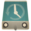 128x128px size png icon of hd timemachinehd