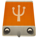 128x128px size png icon of usb