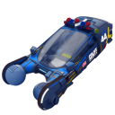 128x128px size png icon of police spinner car