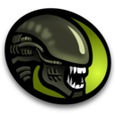 128x128px size png icon of Alien
