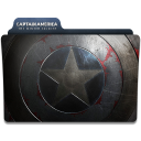 128x128px size png icon of Captain America Winter Soldier Folder 3