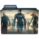 128x128px size png icon of Captain America Winter Soldier Folder 4