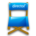 128x128px size png icon of Directors chair