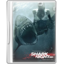 128x128px size png icon of shark night