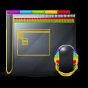 128x128px size png icon of Guyman Folder Desktop