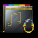 128x128px size png icon of Guyman Folder Music