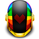 128x128px size png icon of Guyman Helmet Love