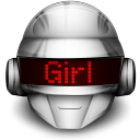128x128px size png icon of Thomas Girl