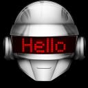 128x128px size png icon of Thomas Hello