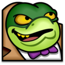 128x128px size png icon of Baron Greenback