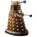 128x128px size png icon of Dalek
