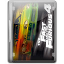 128x128px size png icon of Fast And Furious 4