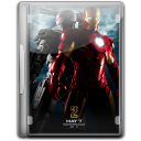 128x128px size png icon of Ironman 2 v4