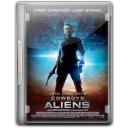 128x128px size png icon of Cowboys Aliens v8