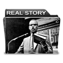 128x128px size png icon of Real Story