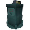 128x128px size png icon of Futurama Suicide Booth
