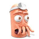 128x128px size png icon of Dr. Zoidberg