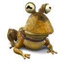 128x128px size png icon of Hypnotoad