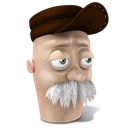 128x128px size png icon of Scruffy