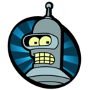 128x128px size png icon of Bender