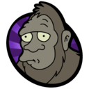 128x128px size png icon of Bigfoot