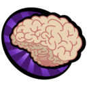 128x128px size png icon of Brain Spawn
