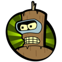 128x128px size png icon of Downgraded Bender