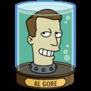 128x128px size png icon of Al Gore's Head