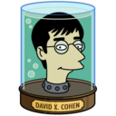 128x128px size png icon of David Cohen's Head