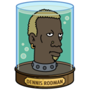 128x128px size png icon of Dennis Rodman