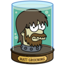 128x128px size png icon of Matt Groening
