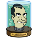 128x128px size png icon of Richard Nixon's Head
