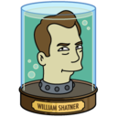 128x128px size png icon of William Shatner's Head