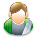 128x128px size png icon of Arthur Dent