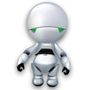 128x128px size png icon of Marvin