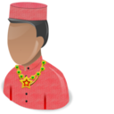 128x128px size png icon of African