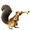 128x128px size png icon of Scrat