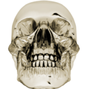 128x128px size png icon of crystalskull 1