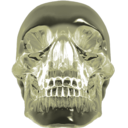 128x128px size png icon of crystalskull 2