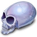 128x128px size png icon of Crystal Skull