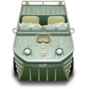 128x128px size png icon of Duck Boat