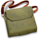 128x128px size png icon of Indys Bag