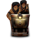128x128px size png icon of Mine Cart and Thuggee
