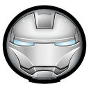 128x128px size png icon of Iron Man Mark II 01